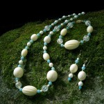 Amazonite, Bone, Ivory, and Plastic