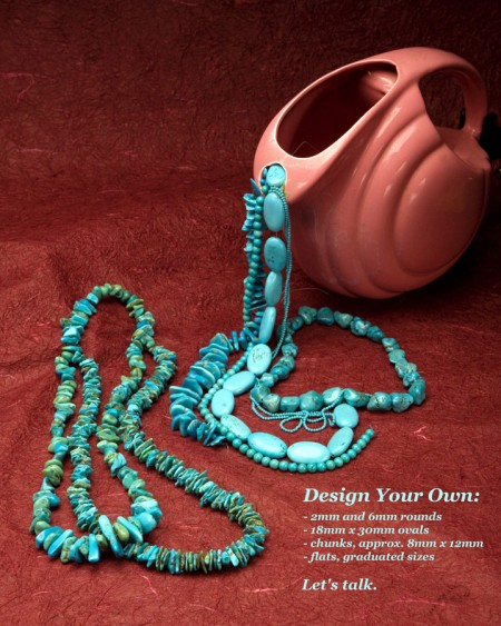 Turquoise Demi-Double Necklace